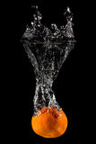 Orange Fruit Splash Royalty Free Stock Photo