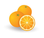 Orange. Fruit a useful provide energy to the body Royalty Free Stock Image