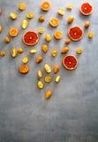 Orange fruit variety Royalty Free Stock Image