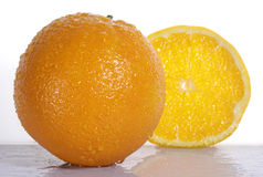 Orange fruit Stock Photography