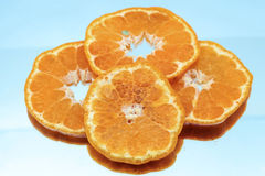 Orange fruit. On white background Stock Image