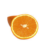 Orange fruit  on white Stock Photo