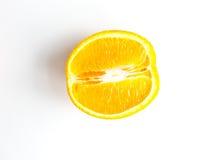 Orange fruit on white background. Royalty Free Stock Photo