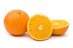 Orange fruits Stock Images
