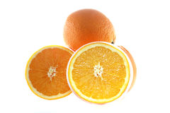 Orange fruits Stock Images
