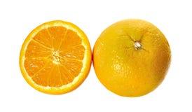Orange fruits close up on background Royalty Free Stock Photography