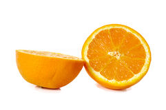 Orange fruits close up on background Royalty Free Stock Images