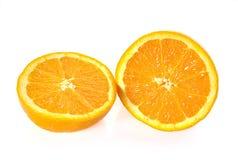 Orange fruits close up on background Royalty Free Stock Photos