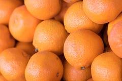 Orange fruits. Close up of orange fruit in the market Stock Images