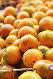 Orange fruits in the market Royalty Free Stock Image