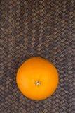 Orange Fruits On Wicker VI Royalty Free Stock Photos