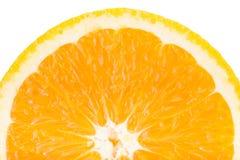 Orange frukt, övre bild för slut Arkivbilder