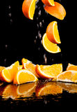 Orange frukt Arkivfoto