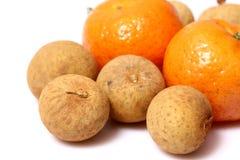 Orange frukt för Longan för fruktï¼ Œ Arkivfoto