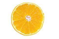 Orange frukt för nya skivor Fotografering för Bildbyråer
