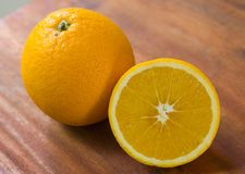 Orange frukt för sunt och vitamin C Arkivbild