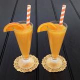 Orange fruktfruktsaft Royaltyfri Bild