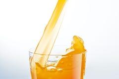 Orange fruktsaft Royaltyfri Bild