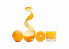 Orange fruktsaft Royaltyfria Bilder