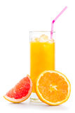 Orange fruktsaft Royaltyfri Bild