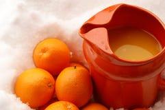 Orange fruktsaft royaltyfri foto