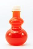 Orange fruktsaft buteljerar in Royaltyfria Bilder