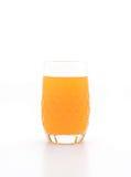 Orange fruktsaft i exponeringsglas Royaltyfria Bilder