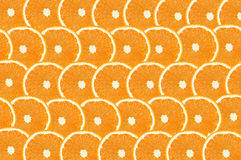Orange fruts slice abstract seamless pattern background Royalty Free Stock Photos