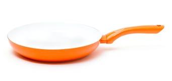 Orange Frying Pan Royalty Free Stock Images