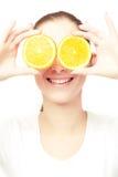 Orange fun Royalty Free Stock Images