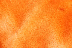 Orange fur #2. Orange background stock photography