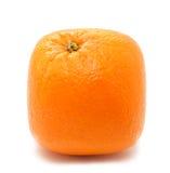orange fyrkant Royaltyfri Fotografi