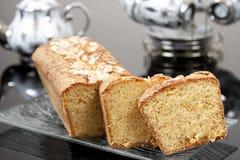 Orange - gâteau d'amande Photographie stock libre de droits
