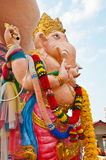 Orange ganesha statue at Siamganesh park Royalty Free Stock Photos