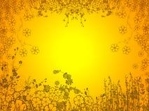 Orange garden background. Illustration of orange garden background Stock Photo