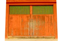 Orange Gate Royalty Free Stock Photography