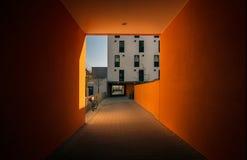 The orange gate Stock Image
