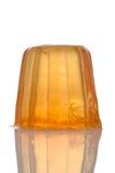 Orange gelatin Royalty Free Stock Image