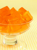 Orange Gelatin Royalty Free Stock Photo