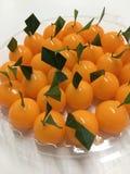 Orange Gelee Lizenzfreie Stockfotografie