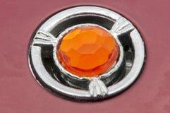 Orange gem Stock Image
