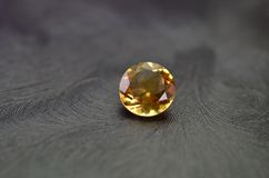 Orange gem Royalty Free Stock Images