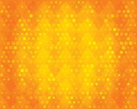 Orange geometric background for design. Stock Photography