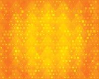 Orange geometric background for design. Stock Photography
