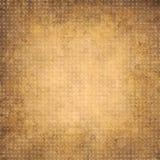Orange geometrisk bakgrund för tappning med cirklar Arkivfoton