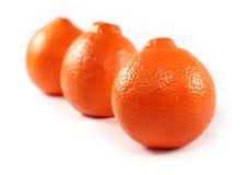 Orange getrennt Stockbilder