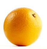 Orange getrennt auf einem Weiß Lizenzfreie Stockbilder