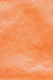 Orange Gewebe-Beschaffenheit Stockbild