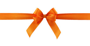 Free Orange Gift Bow Royalty Free Stock Photography - 10690767