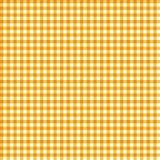 Orange Gingham Seamless Pattern. Orange gingham pattern for Festa Junina in Brazil royalty free illustration